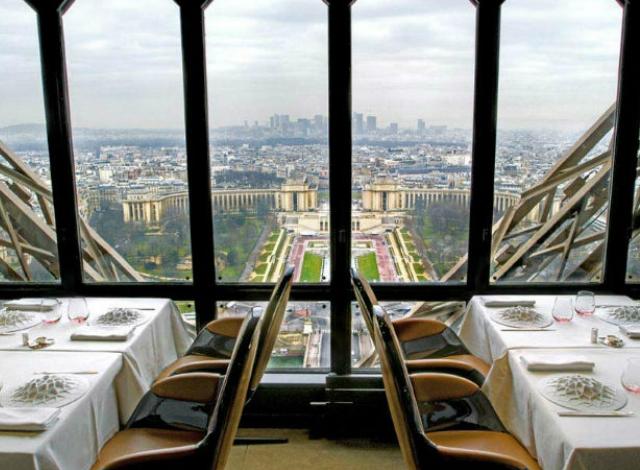 ristoranti panoramici Le Jules Verne Parigi