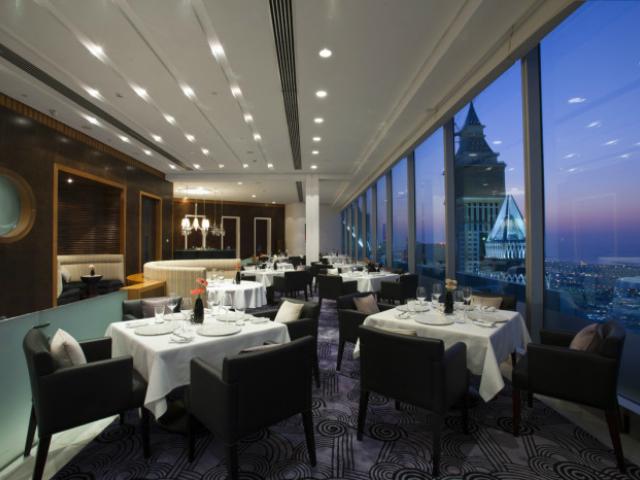 ristoranti panoramici Vus Restaurant Dubai