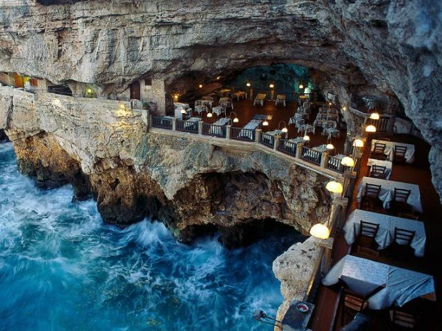 ristoranti panoramici grotta palazzese puglia