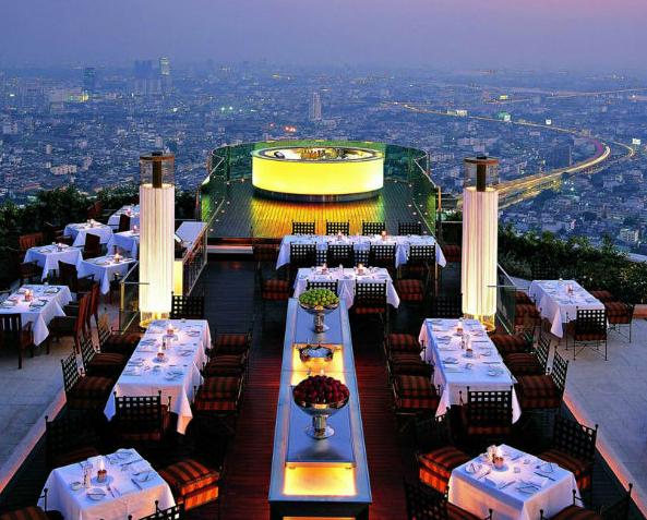 ristoranti panoramici sirocco bangkok