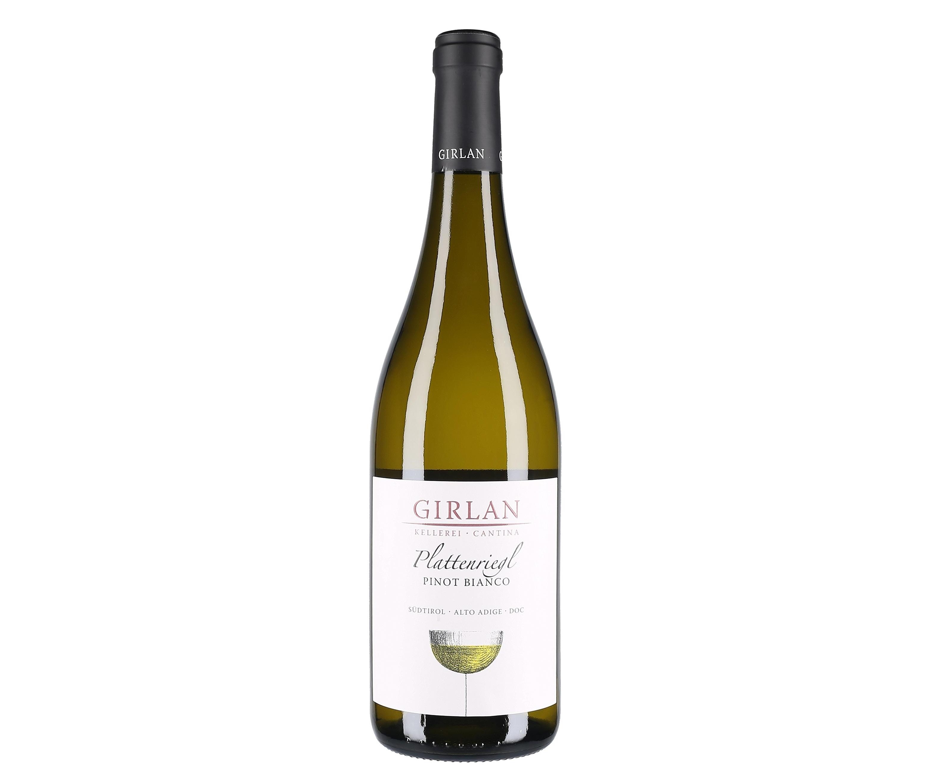 Alto Adige Pinot Bianco Plattenriegl 2015 Girlan
