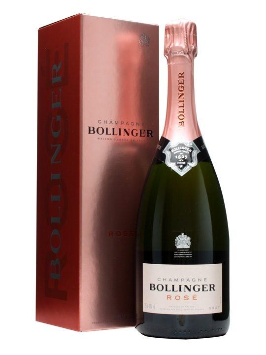 Bollinger champagne Rose migliori bottiglie
