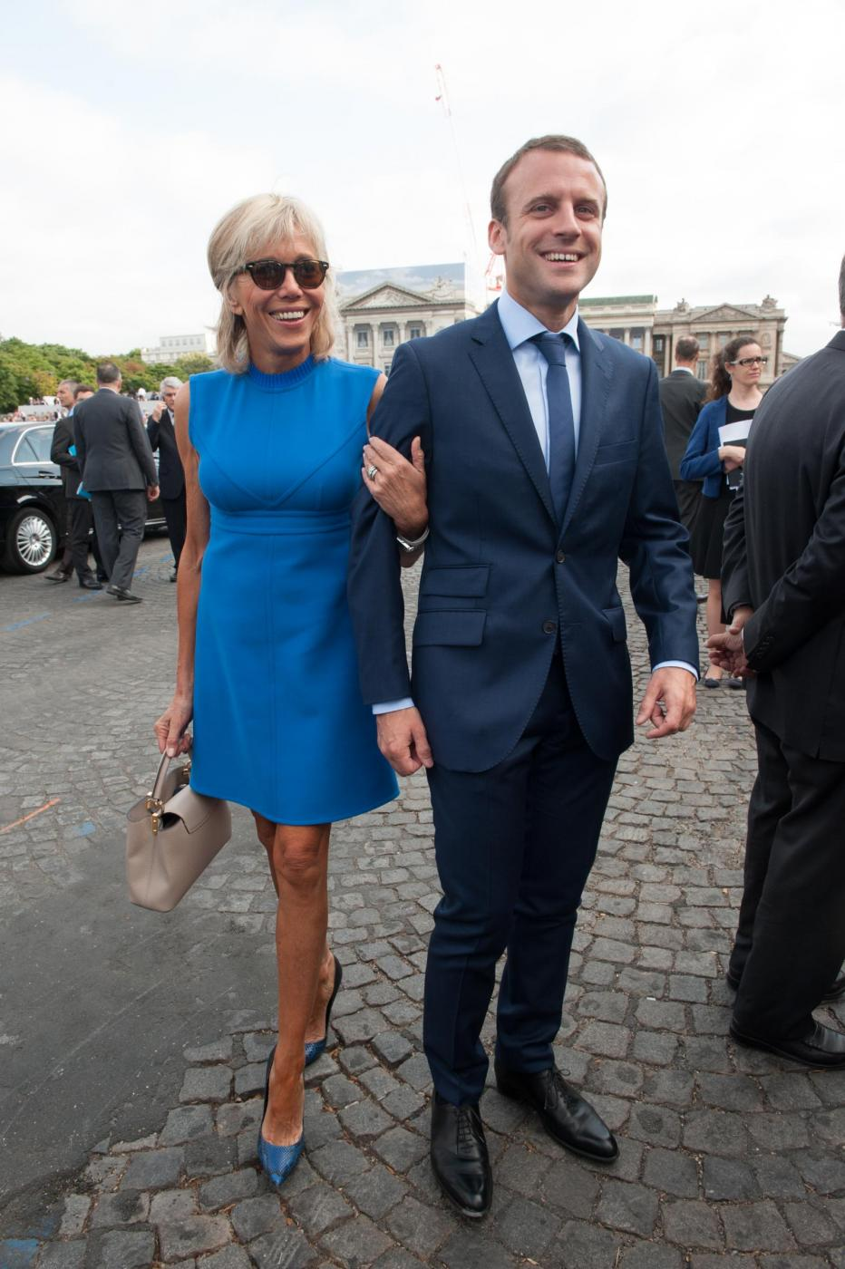 Macron e lթnseparabile Brigitte, lաmore fuori dagli schemi