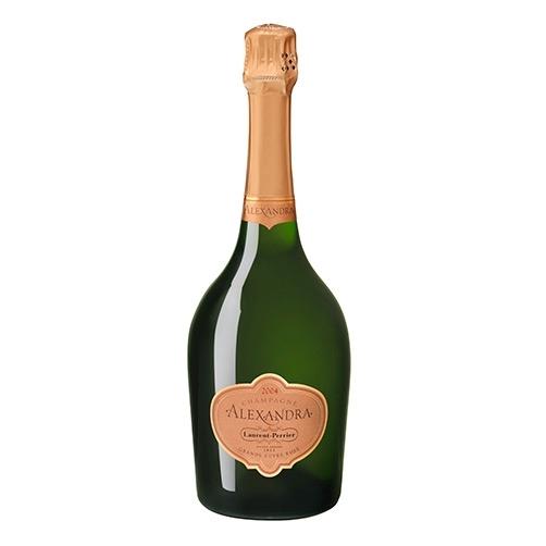Champagne Brut Rosé Grand Cuvée Alexandra 2004 Laurent Perrier migliori champagne rosé