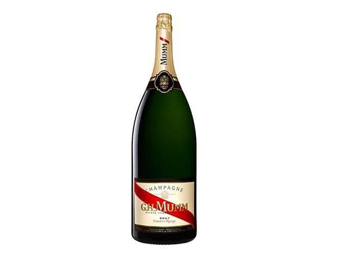 Champagne Cordon Rouge Salmanazar G.H. Mumm champagne più costosi al mondo