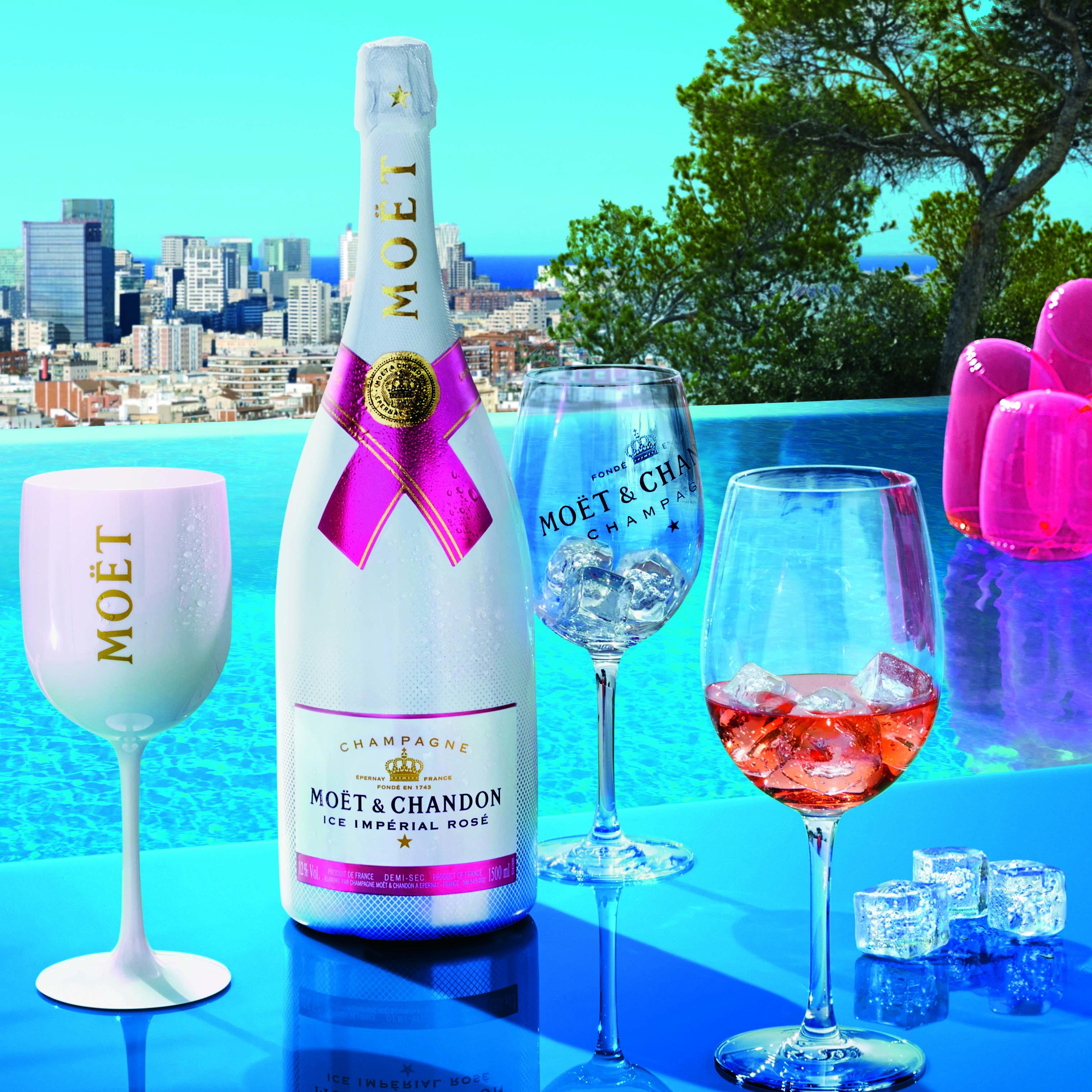 Champagne Moet Ice Imperial Rose migliori bottiglie