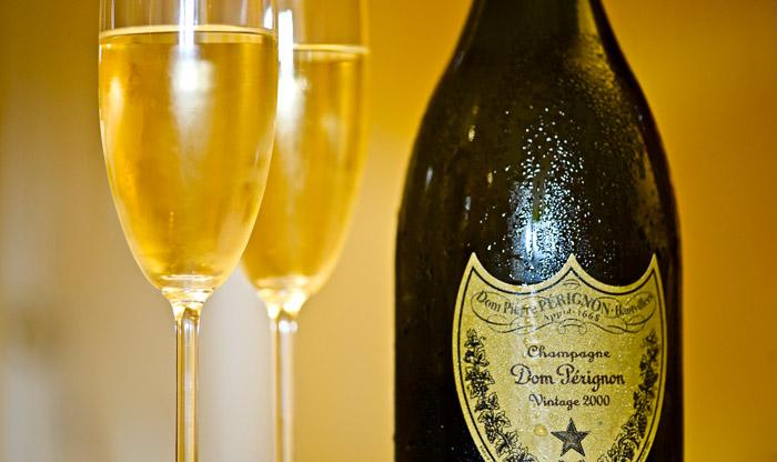 Champagne cuvée de prestige