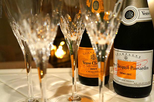 Champagne demi sec abbinamenti
