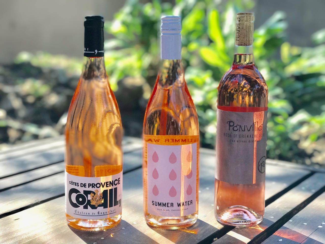 """Cotes de Provence Rosè """"Corail"""" – Chateau Roquefort"""