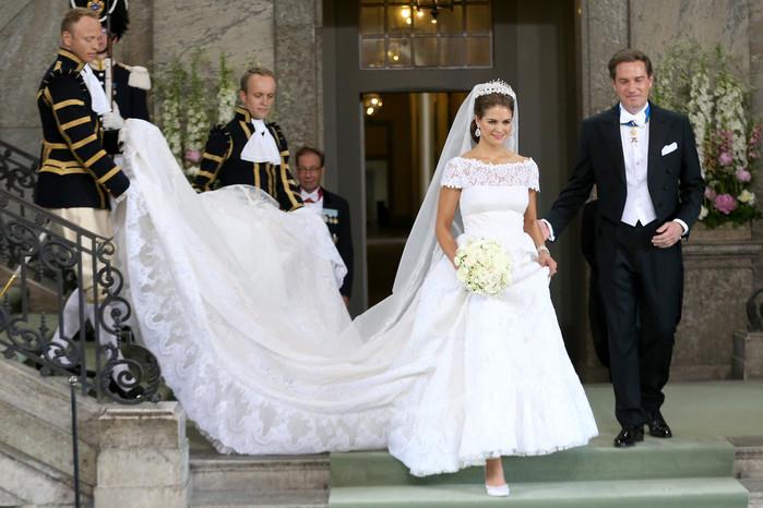 L'abito da sposa Valentino per la principessa di Svezia