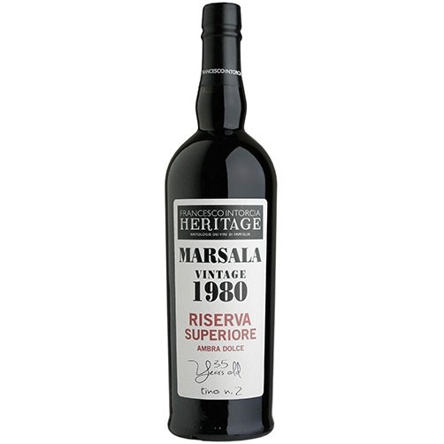 Marsala Vintage Riserva Superiore Ambra Dolce 1980 Cantine Intorcia
