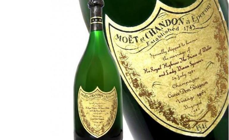 Moet & Chandon Dom Perignon Charles & Diana 1961 champagne più costosi del mondo