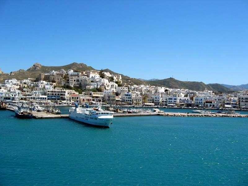Naxos in Grecia