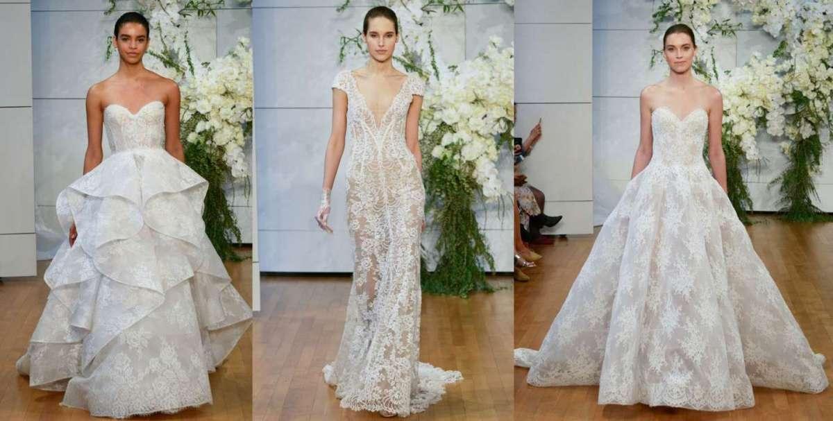 Monique Lhuillier 2018: gli abiti da sposa più belli [FOTO]