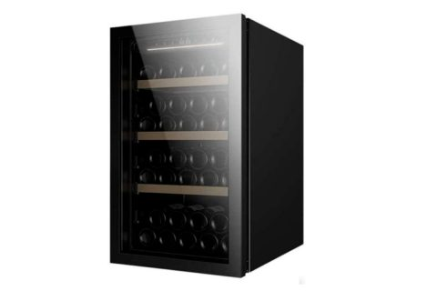 Cantinetta vino nera moderna
