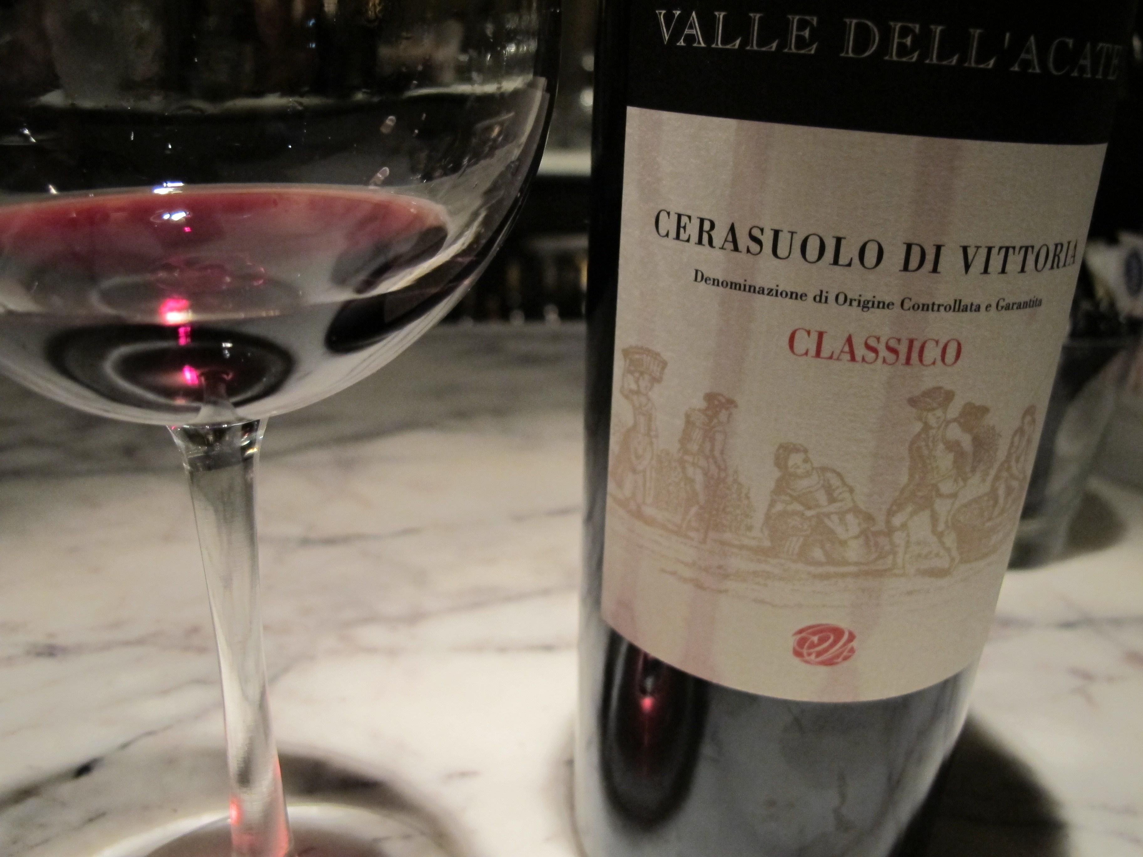cerasuolo di vittoria vino siciliano