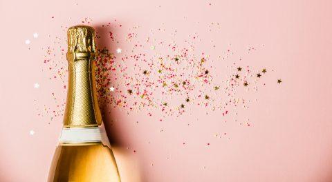 Champagne costoso