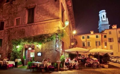 I migliori ristoranti di Verona per una serata romantica