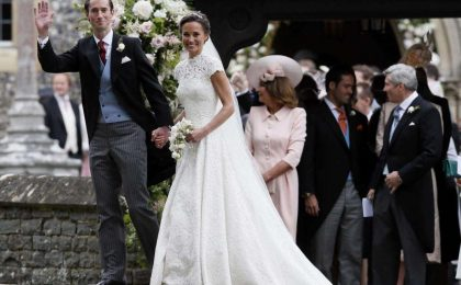 Il matrimonio di Pippa Middleton e James Matthews [FOTO]