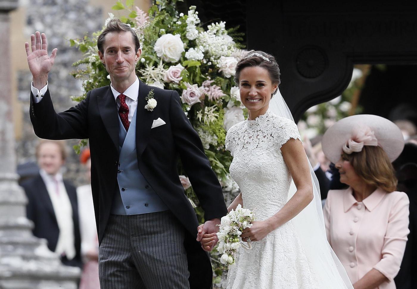 Il Regno Unito si ferma per il matrimonio di Pippa Middleton