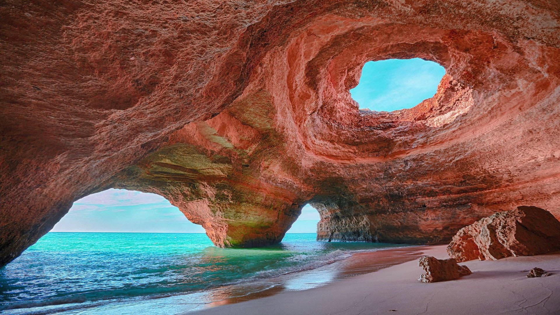 Algar de Benagil Portogallo spiagge più belle d'europa