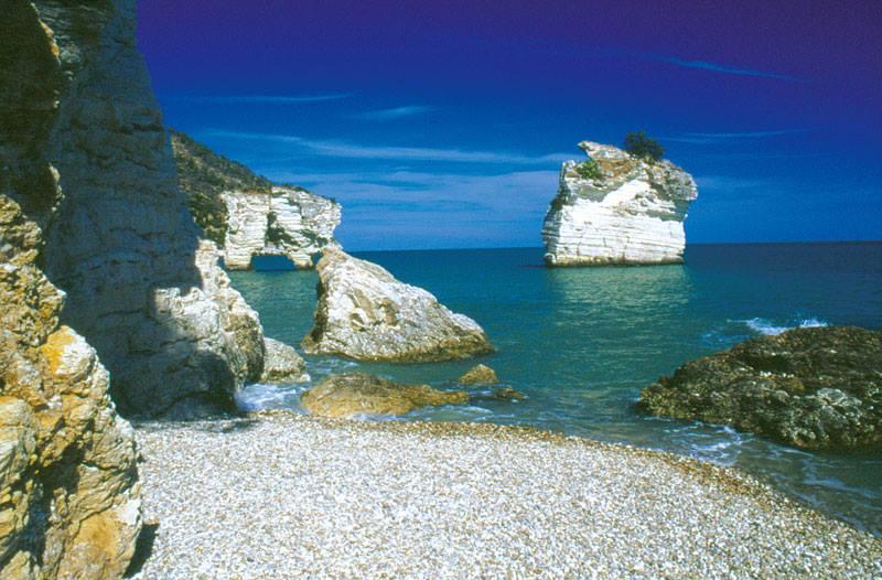 Baia delle Zagare spiagge bianche italia