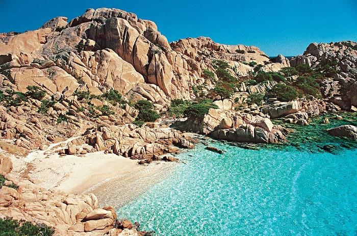 Cala Coticcio e le spiagge della Sardegna a nord est