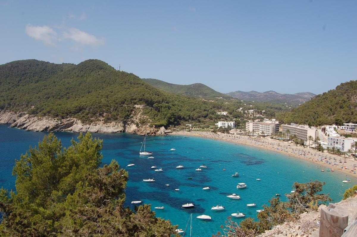 Cala San Vicente a Ibiza