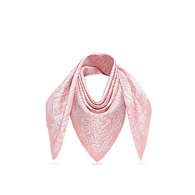 Foulard in seta Louis Vuitton