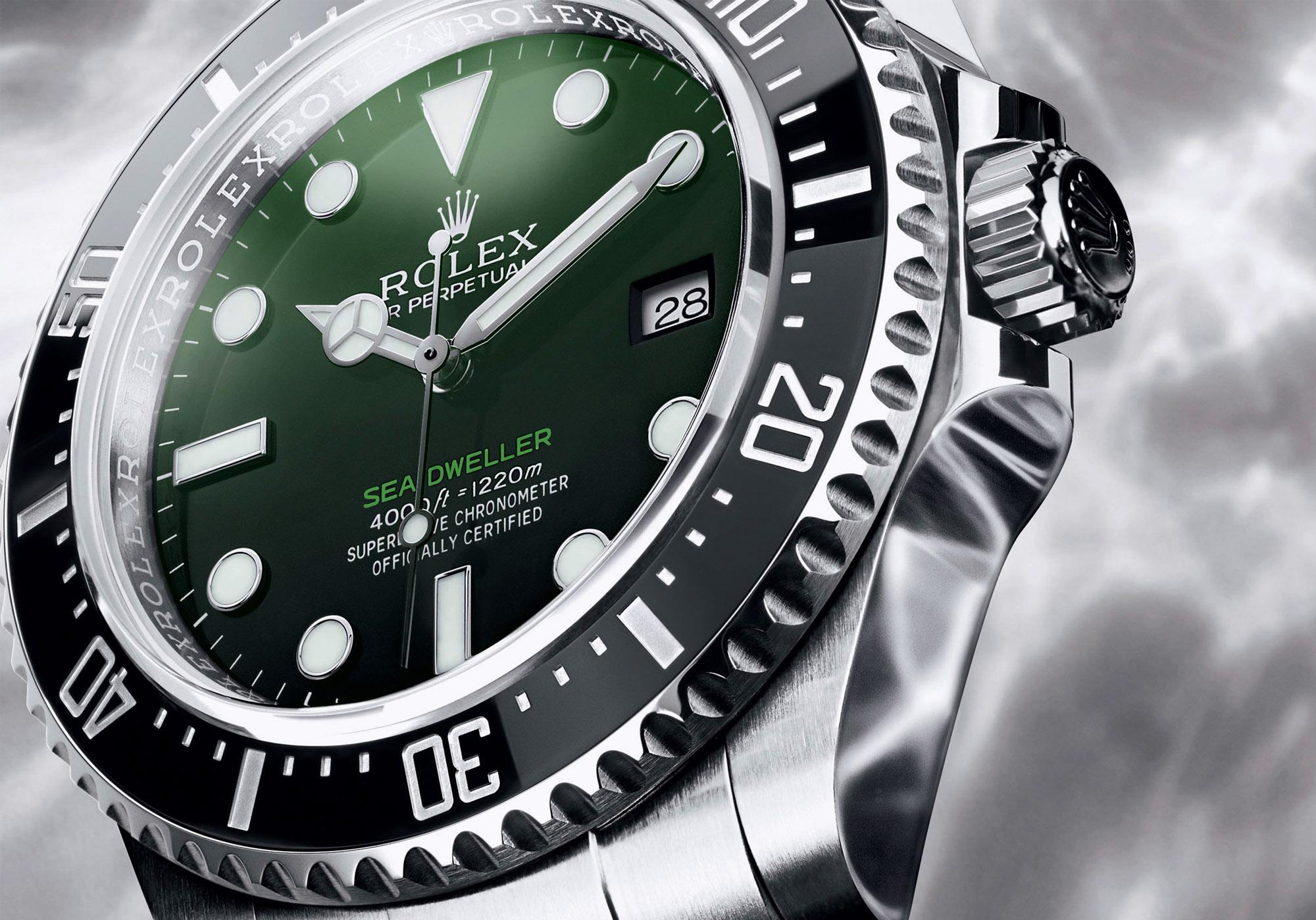 Il nuovo Rolex Sea Dweller con quadrante verde