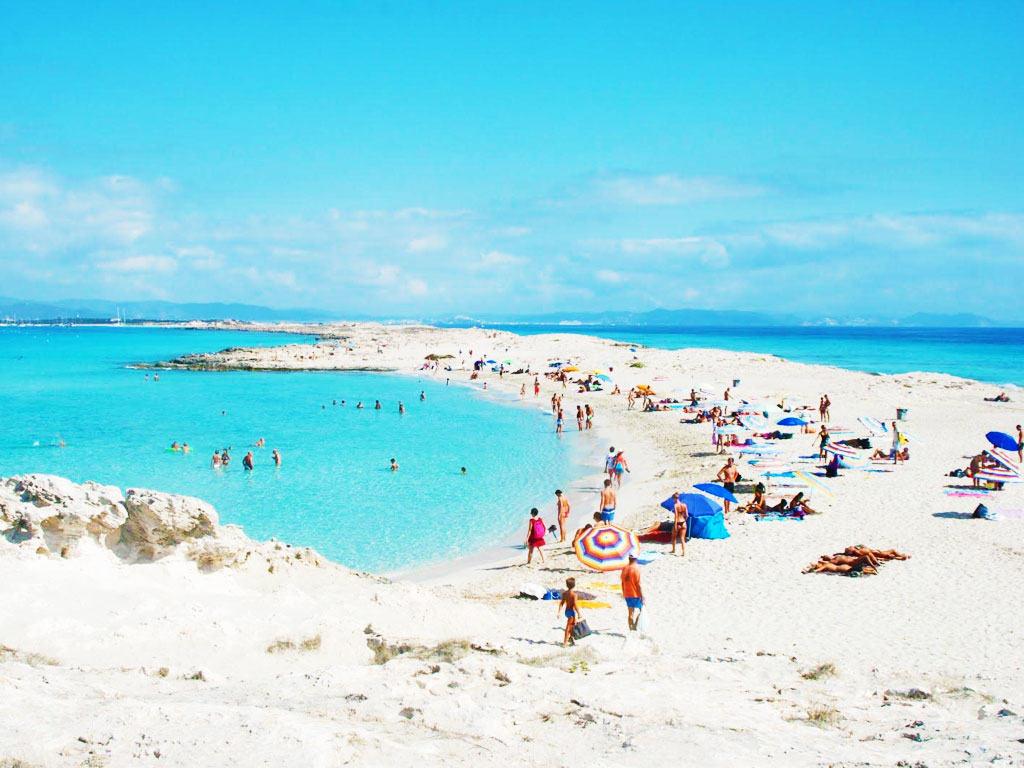 La Playa de Ses Illetes a Formentera