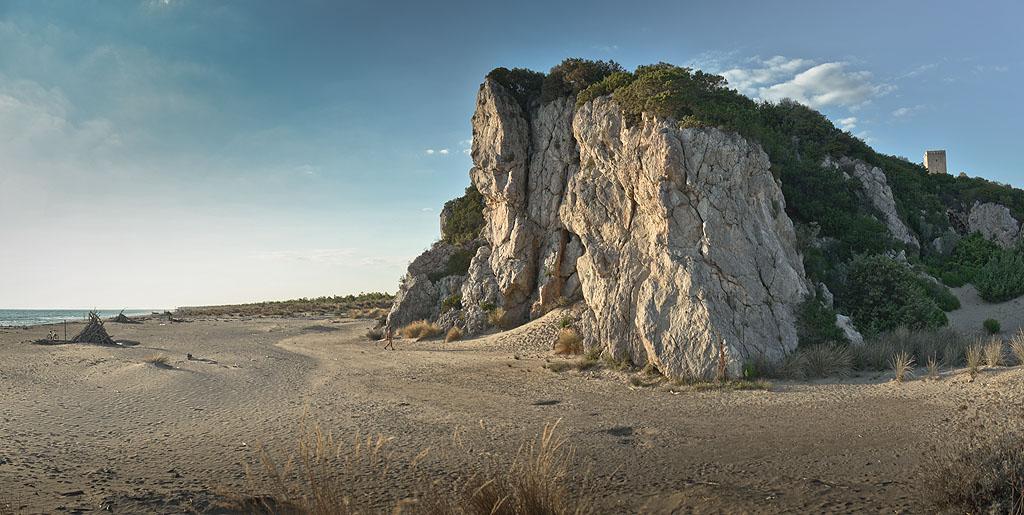 La spiaggia di Collelungo