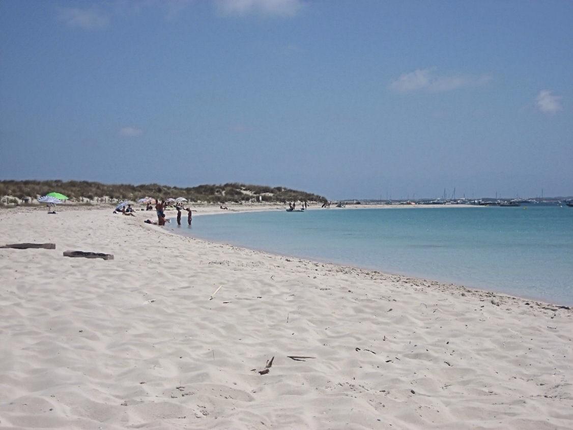La spiaggia di Espalmador a Formentera