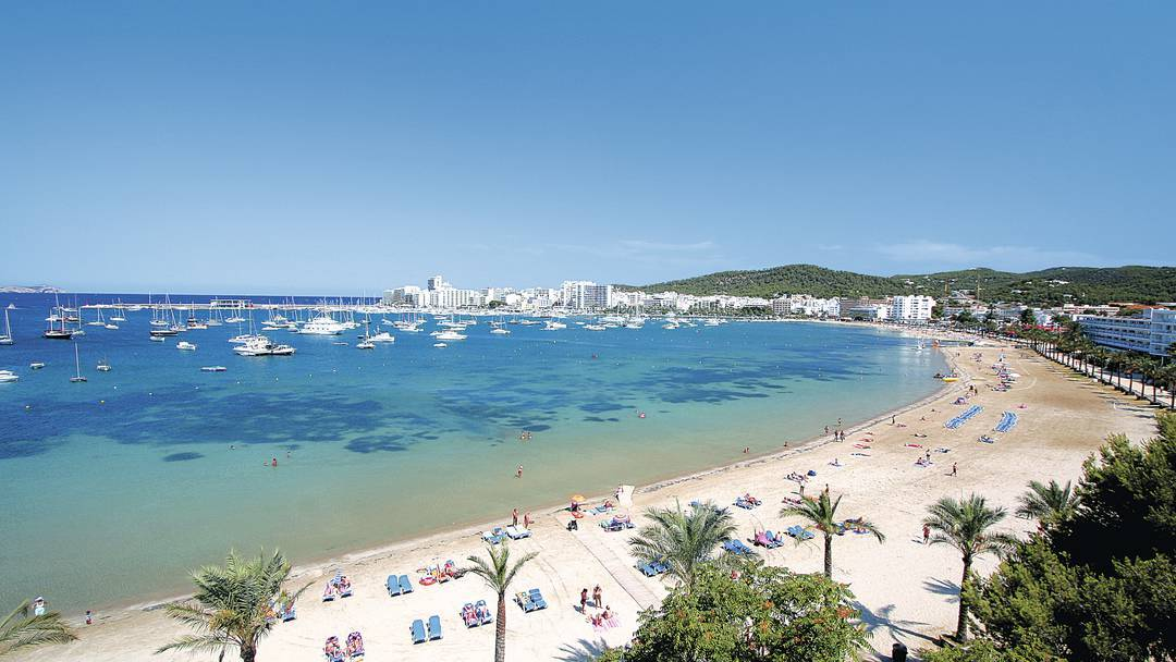 Le spiagge di San Antonio a Ibiza