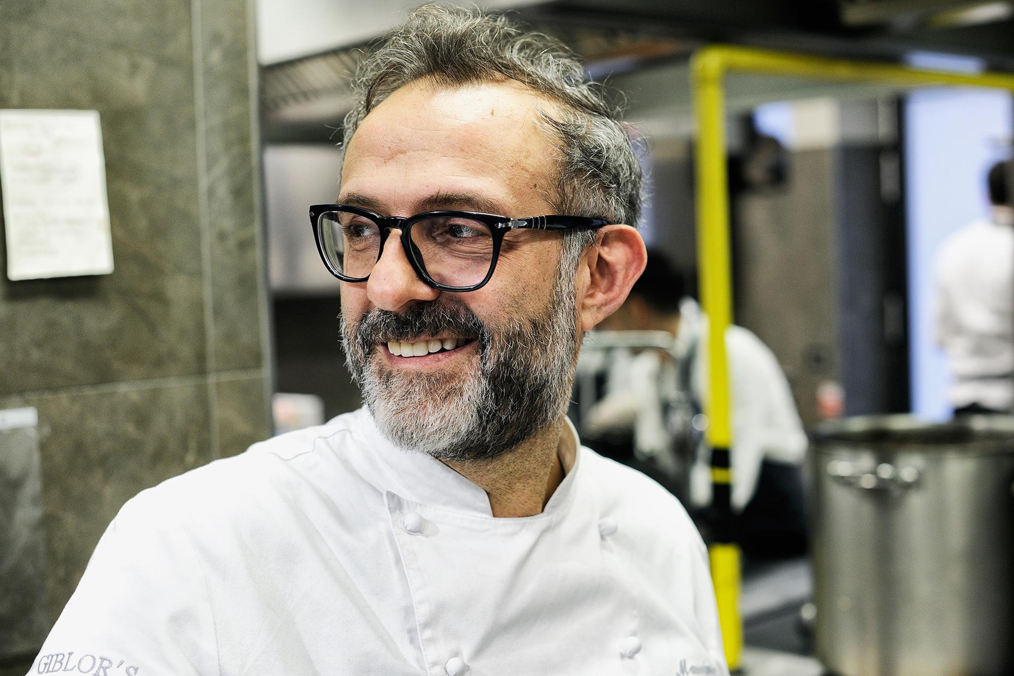 Massimo Bottura chef italiani stellati più influenti