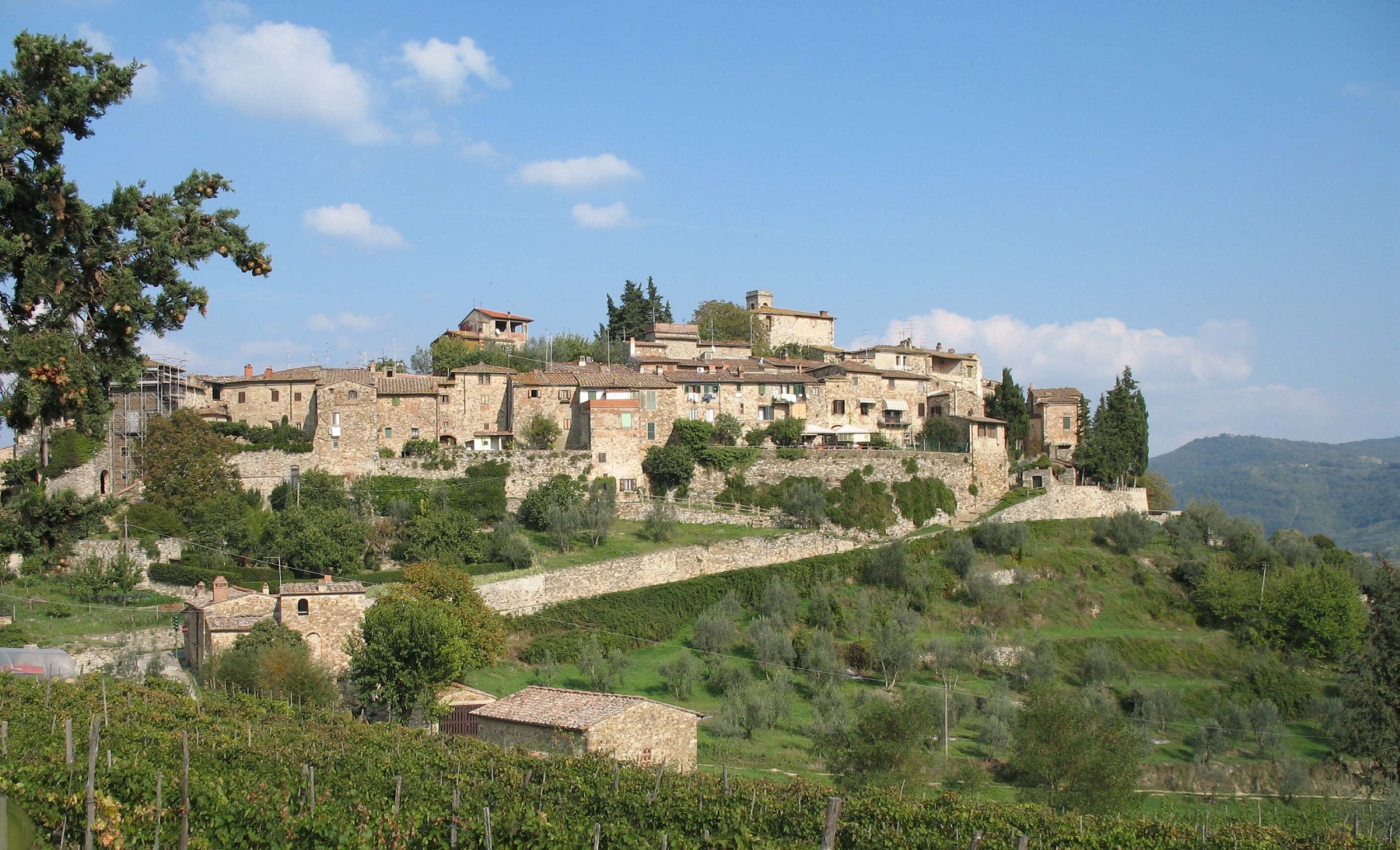 Montefioralle Winery