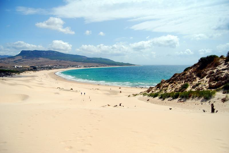 Playa Bolonia spiagge più belle d'europa