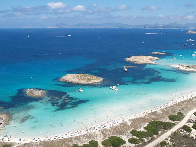 Playa de ses Illetes Formentera Spagna spiagge più belle d'europa