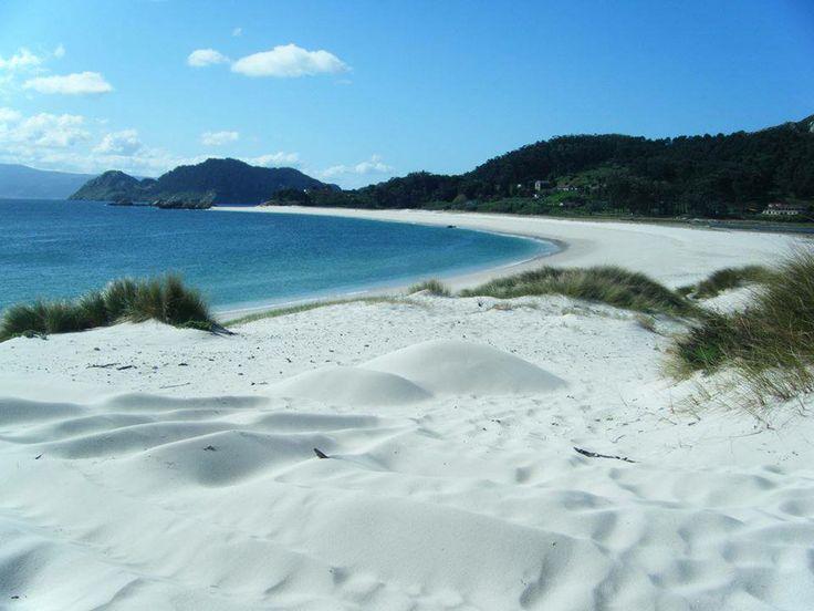 Praia Rodas – Isole Cìes, Spagna spiagge più belle d'europa