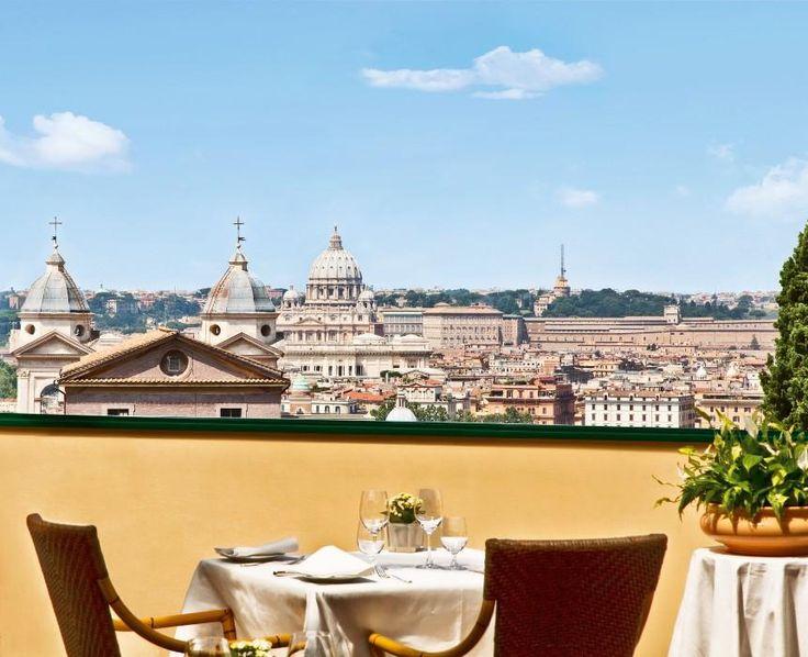 i migliori ristoranti con giardino a Roma