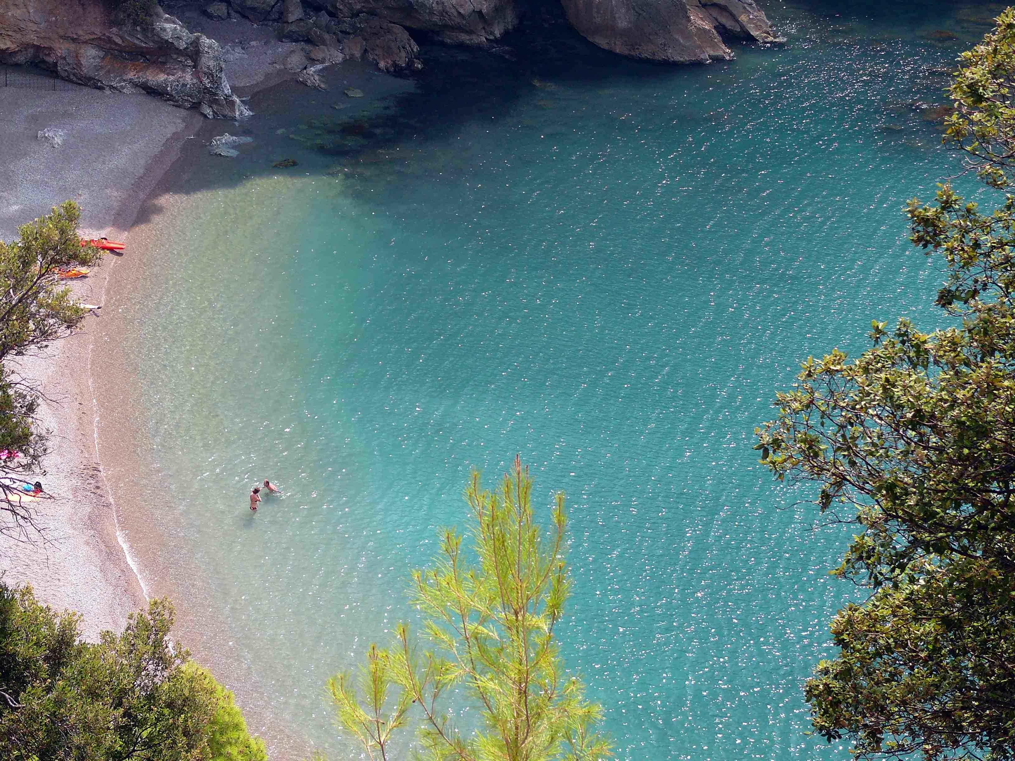 Spiaggia Maramozza, Lerici spiagge più belle liguria
