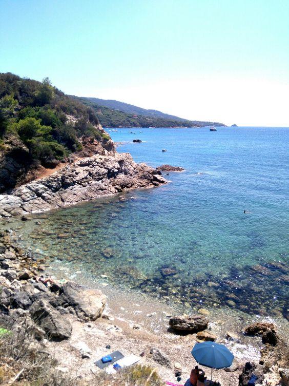 Spiaggia del Felciaio spiagge più belle isola d'elba