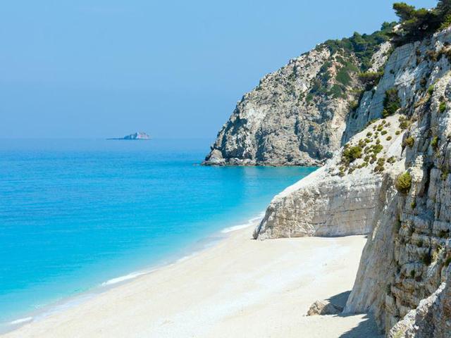 Spiaggia di Egremni Lefkada Grecia spiagge più belle d'europa