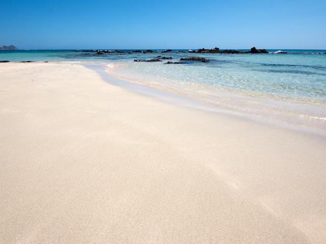 Spiaggia di Elafonissi Elafonissi Grecia spiagge più belle d'europa