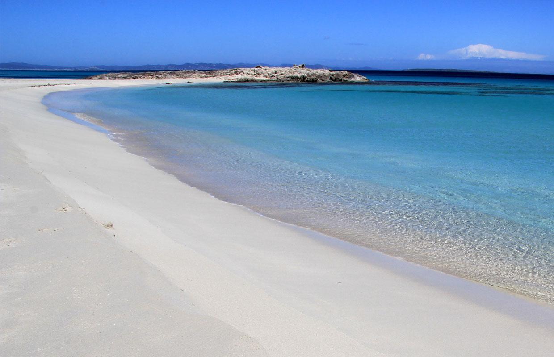 Spiaggia di Ses Platgetes a Formentera