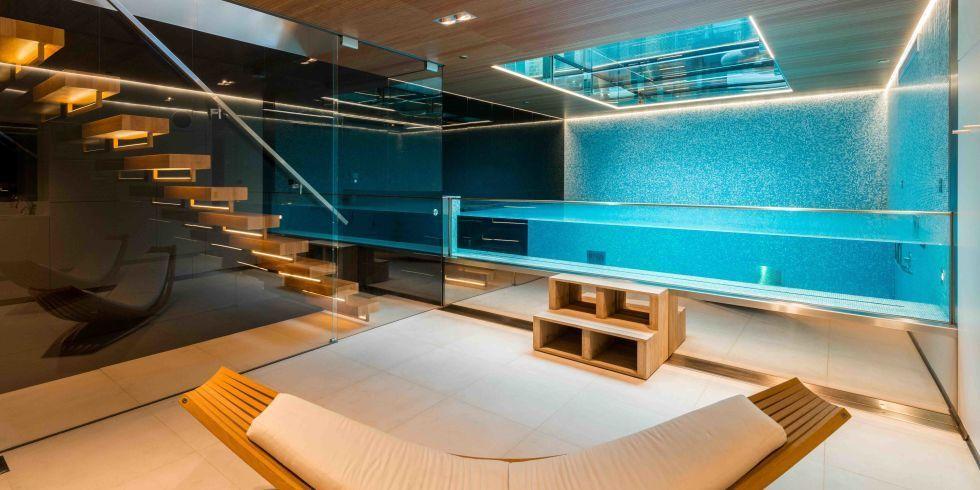A Londra, in vendita la casa con la piscina sotto il pavimento
