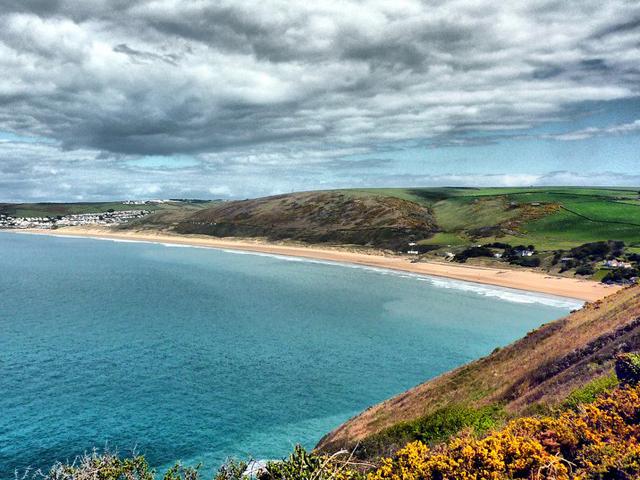 Woolacombe Beach Woolacombe Regno Unito spiagge più belle d'europa