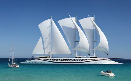 Le barche a vela più grandi del mondo