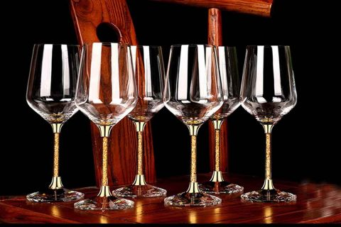 bicchieri vino bianco cristallo