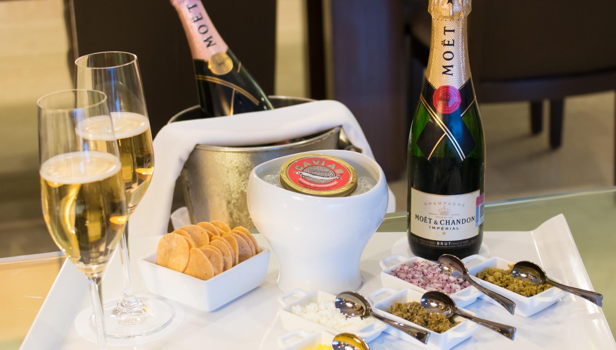 champagne e apperitivi